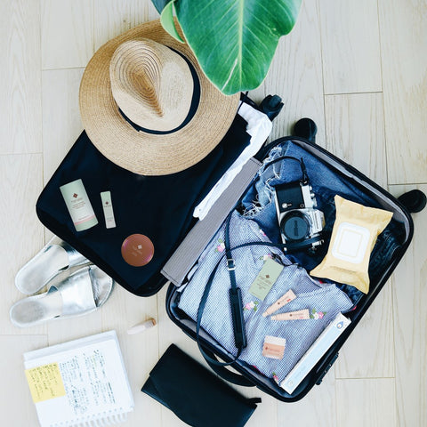 Hanalei Powder Cleansers Are Travel friendly and TSA approved
