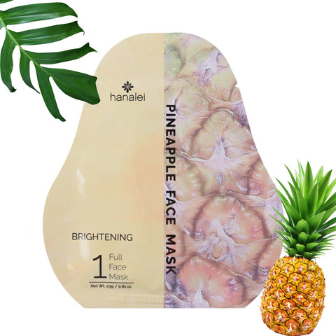 Brightening Pineapple Face Mask From Hanalei Company