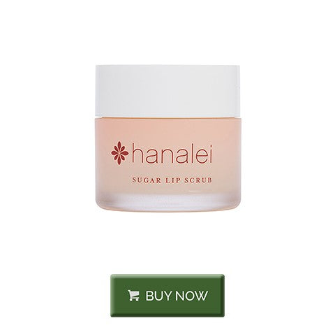 Exfoliate your lips with hanalei sugar lip scrub