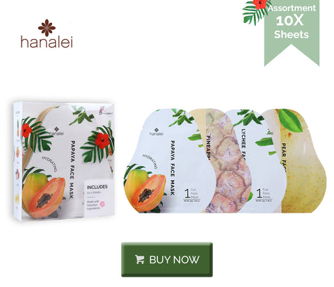 Buy Hanalei Company Hydrating Sheet Masks