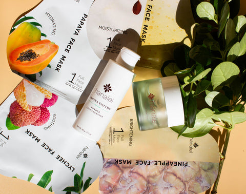 Hanaei Face Products that are an easy way to Hydrate The Skin