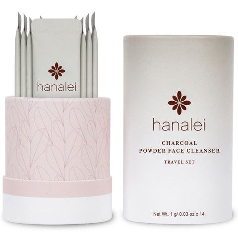 Travel-friendly Charcoal Powder Face Wash by Hanalei Company