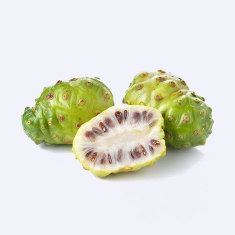 Hawaiian Noni Fruit in Hanalei Company Skincare Products