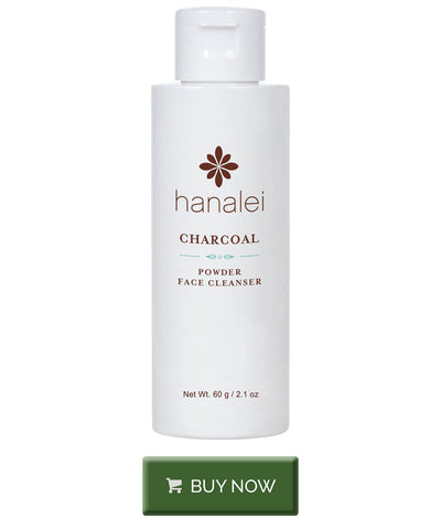 Buy charcoal powder face cleaner by Hanalei Company