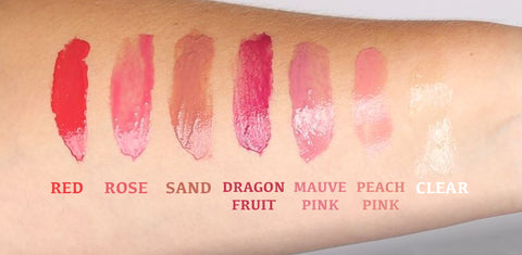 hanalei lip treatment color swatches