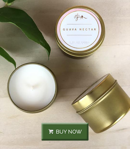 Hawaiian-inspired Jules And Gem Soy Candle