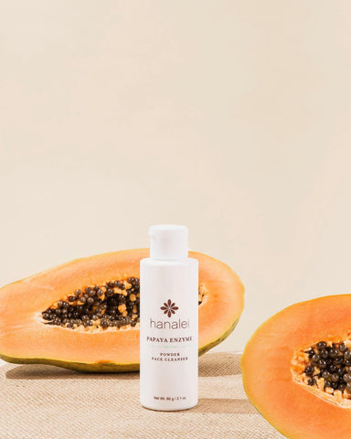 best papaya face cleanser by Hanalei Company