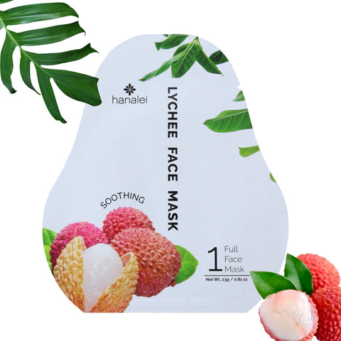 Hanalei Company Lychee Face Mask