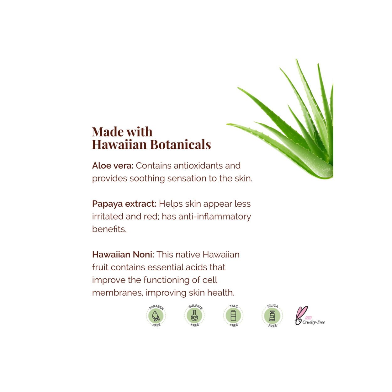 Island Aloe Gel Travel size
