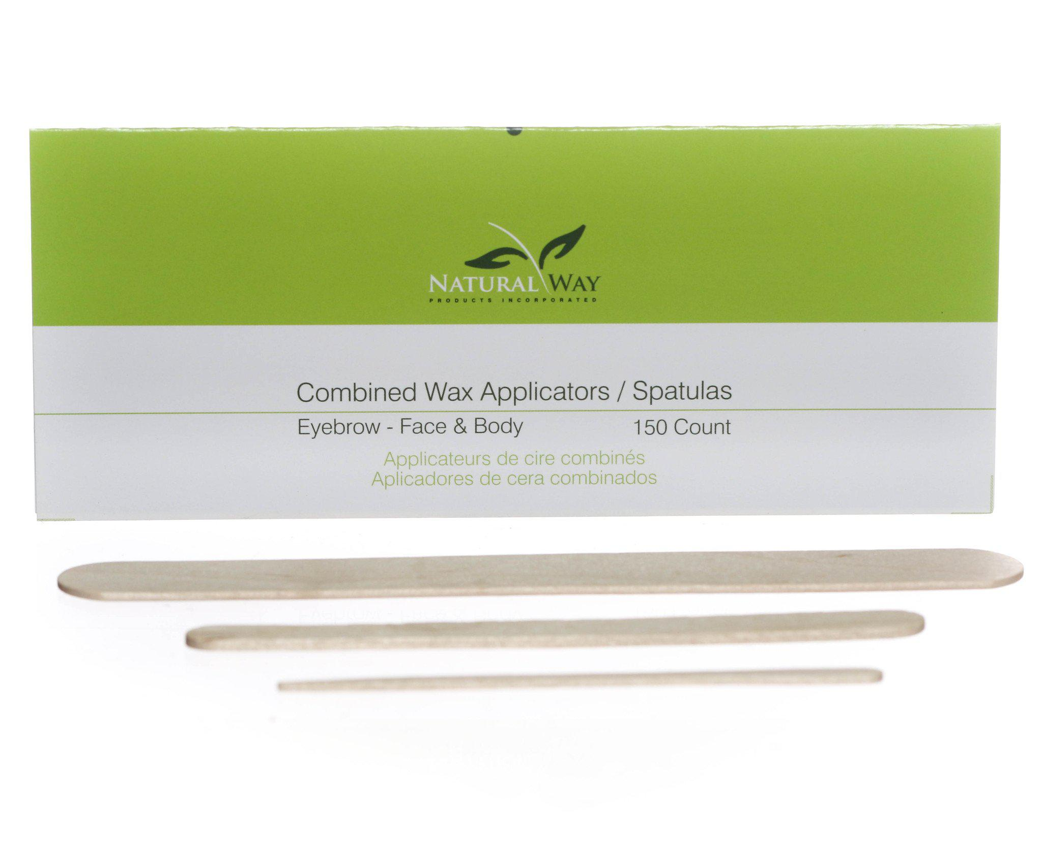 Applicators (50 Eyebrow, 50 Facial, 50 Body)