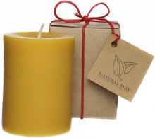 Load image into Gallery viewer, 100% Pure Beeswax Candle 3x6''