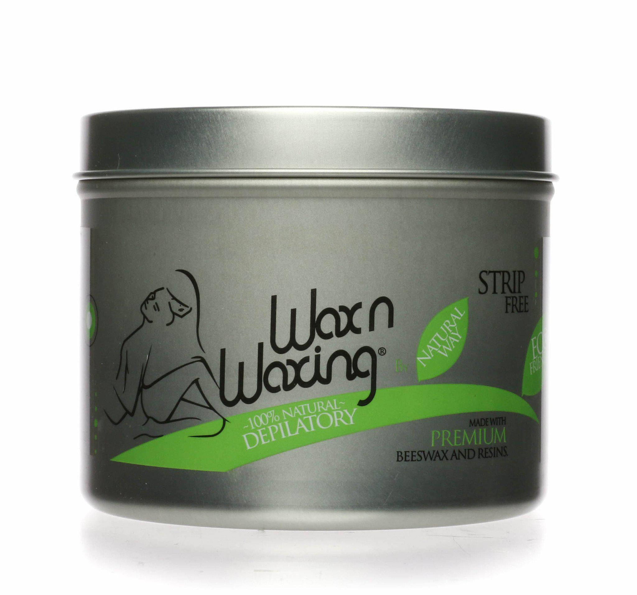 "Wax n Waxing Depilatory Hard Wax - Universal Cans - ""Original Formula"""