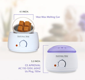 Wax Warmer with Removable Basket* - Great for Hard Wax -  Always Ready