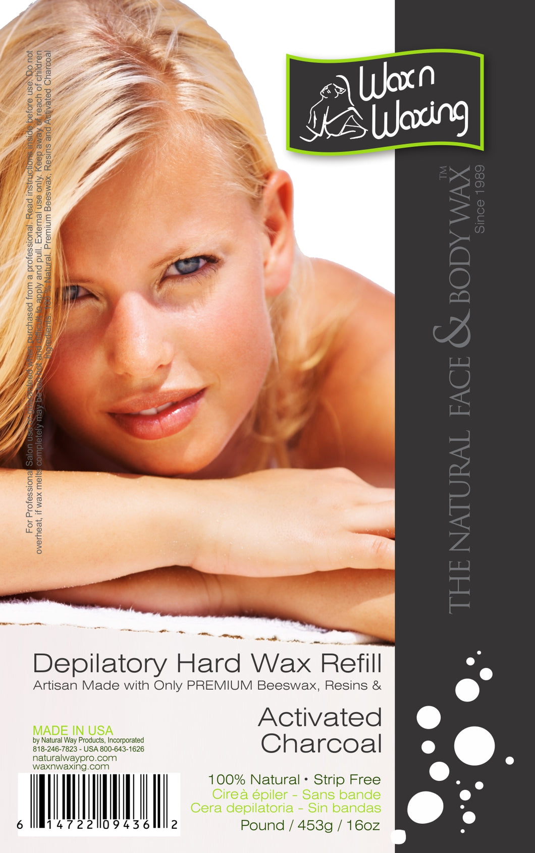 Wax n Waxing Depilatory Hard Wax - Refill by Pound