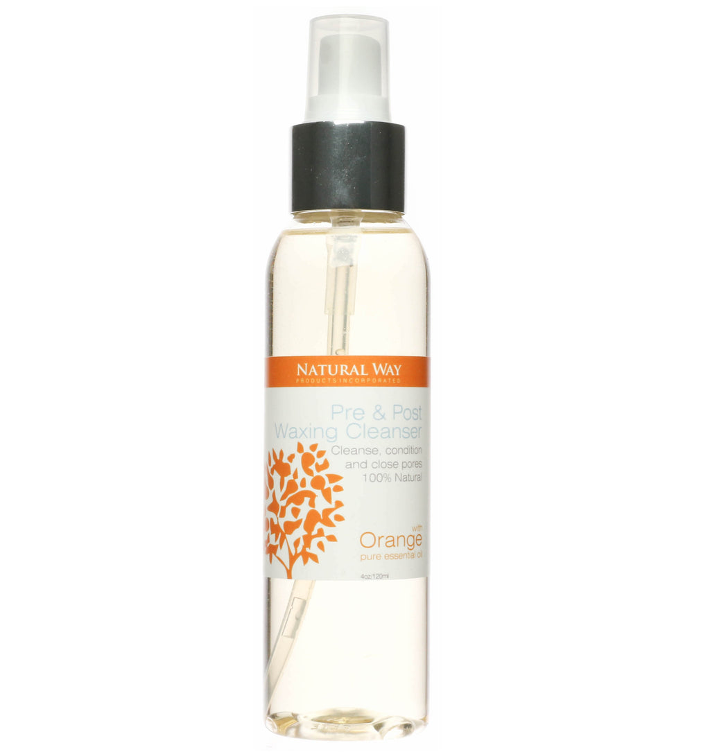 Orange Pre & Post Waxing Cleanser 4oz/120ml