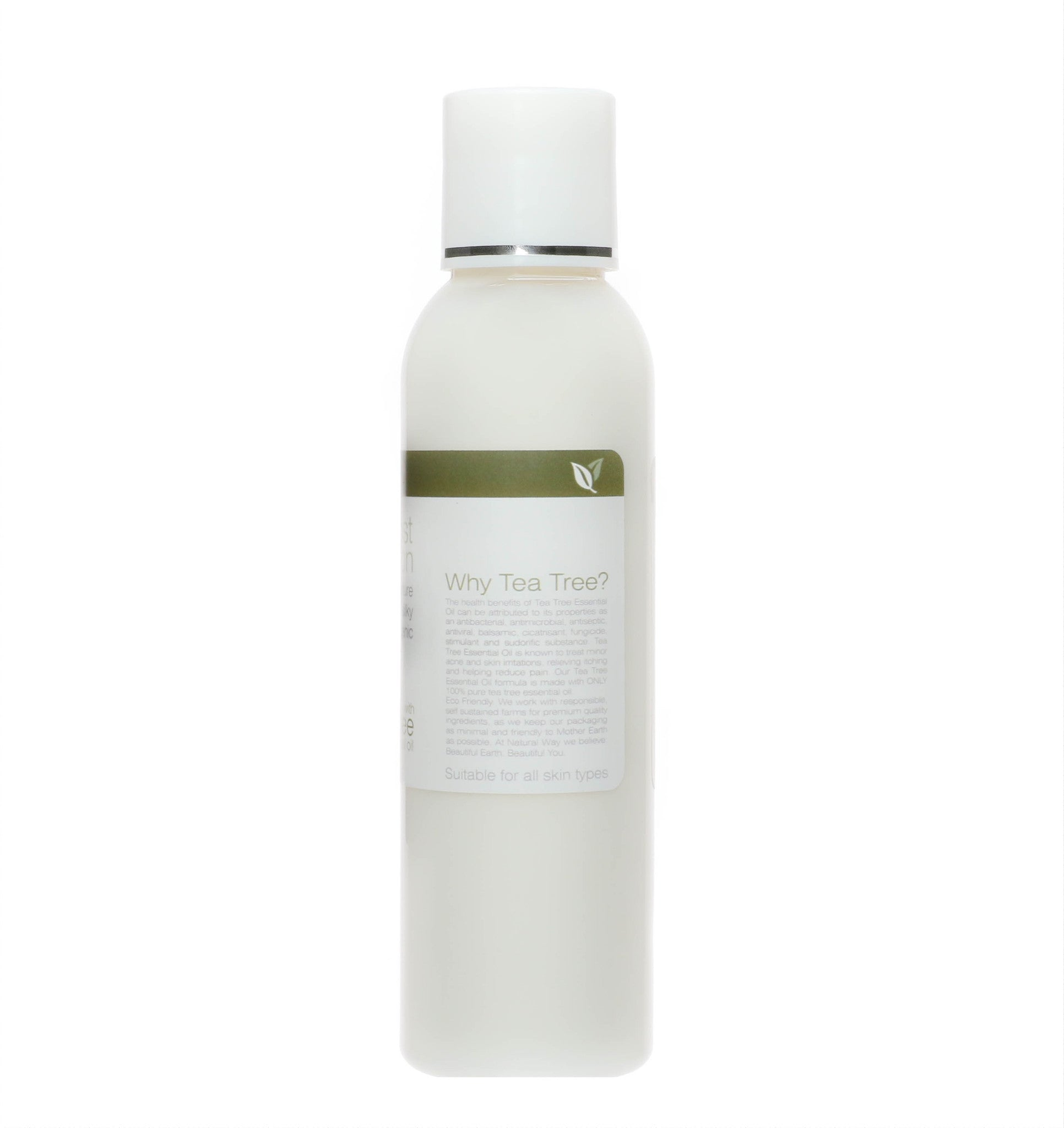 Tea Tree Organic Post Waxing Lotion 4oz/120ml