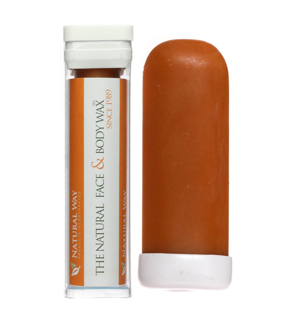 "Hard Wax Body Stick On the GO! ""Orange Essential Oil Formula"" 100% Natural - Travel-Touch Ups!"