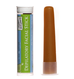 "Hard Wax Facial Stick On the GO! ""Original Formula"" 100% Natural - Travel-Touch Ups! Wax n Waxing"