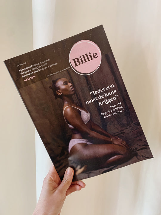Cover of Billie Magazine