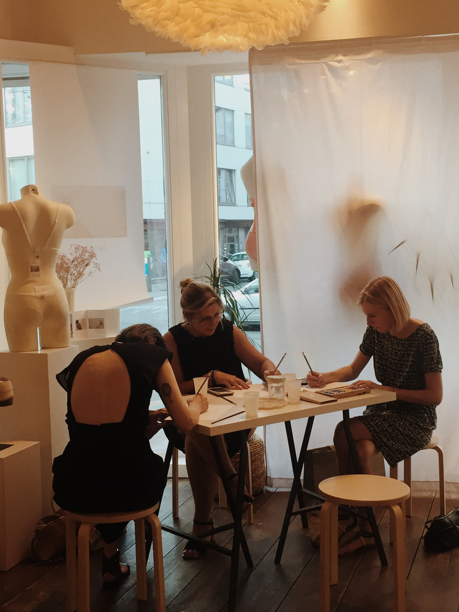 Private workshop 'design your own lingerieset' (op aanvraag)