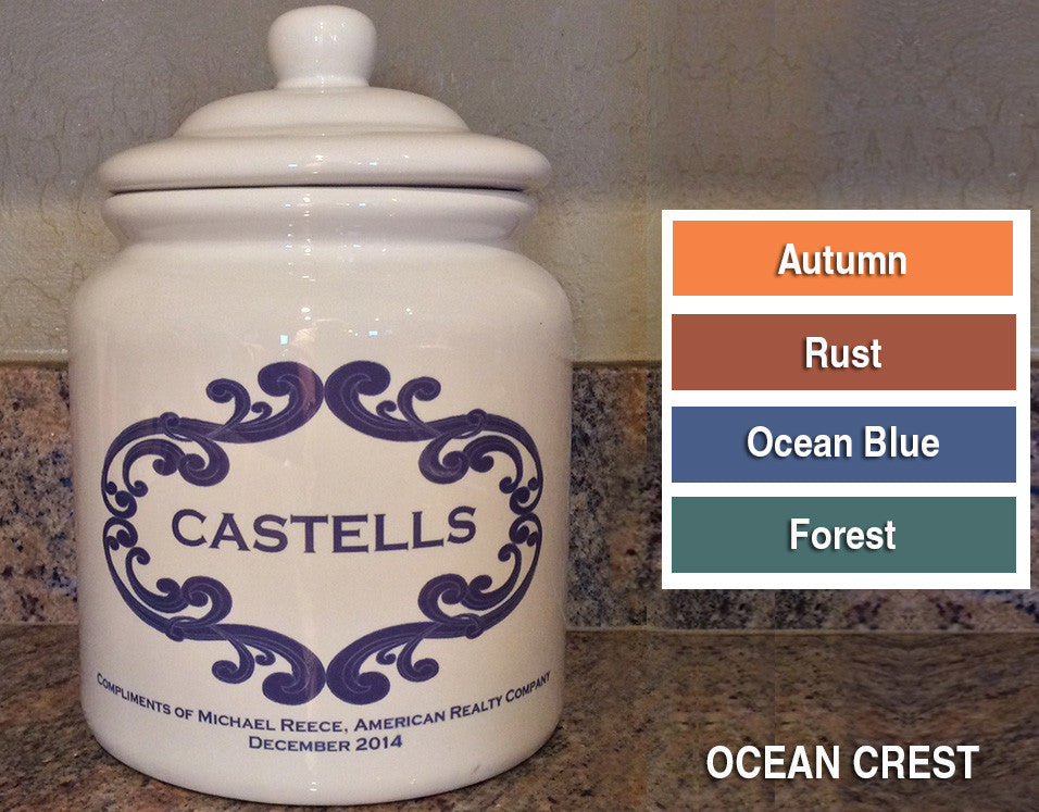 personalized cookie jar click for design choices closinggifts