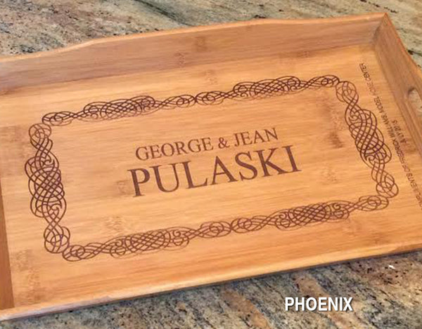 Personalized Rectangular Tray - Click for design choices