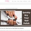10 Fast Dry Top Coat For Nail Polish On Amazon