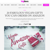 20 FABULOUS VEGAN GIFTS YOU CAN ORDER ON AMAZON