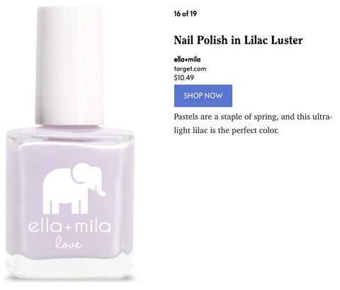 Oprah Magazine new favorite polishes