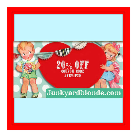 Coupon code now available 20 off coupon code junkyard blonde coupon code now available 20 off coupon code m4hsunfo Choice Image