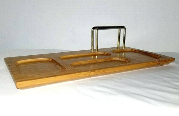 Vintage Wood Valet,Mens Jewelry Tray,1960s