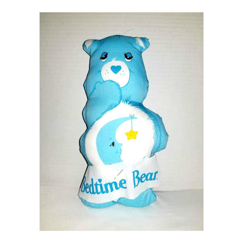 Vintage Bedtime Care Bear,Stitch & Sew Carebear,Blue Carebear,1980s