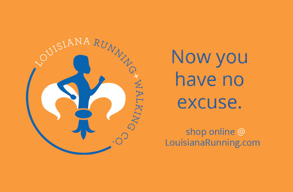 Louisiana Running + Walking Co. Gift Card
