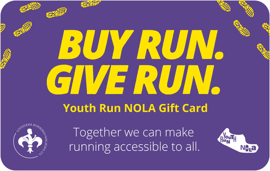 YOUTH RUN: BUY RUN GIVE RUN GIFT CARD
