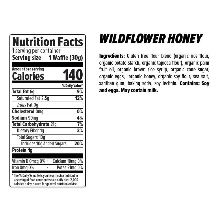 WILDFLOWER HONEY WAFFLE