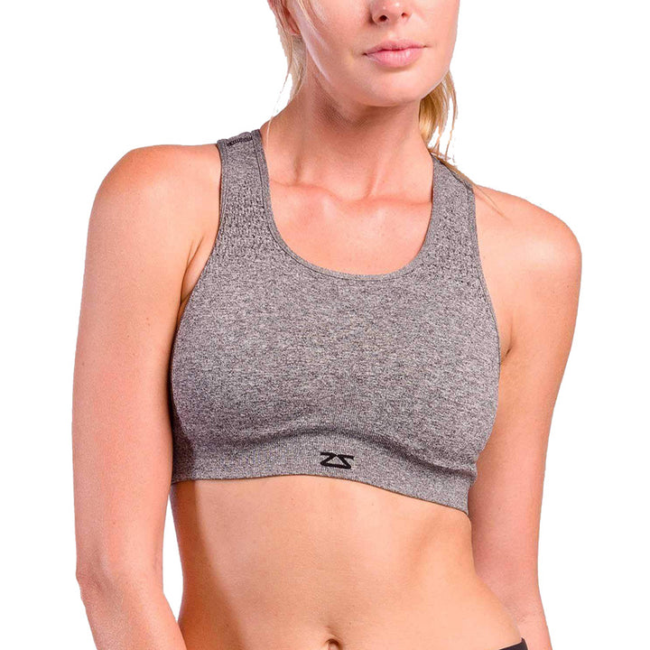 WOMEN'S SEAMLESS RUNNING SPORTS BRA