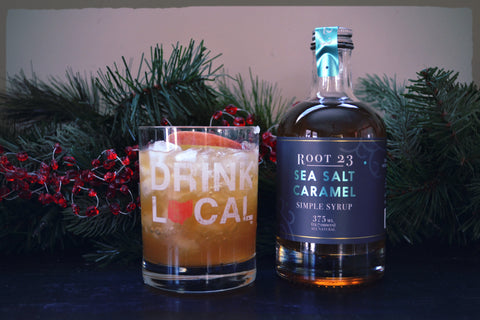 ROOT23 - Simple Syrups. Simple Cocktails - Apple Pickin with Sea Salt Caramel Simple Syrup