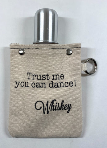 """Trust Me Flask"" by Tote+able - 4 oz"