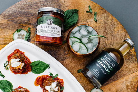 ROOT 23 Cucumber Habanero & Bellisari's Calabrian Pepper & Sweet Tomato Fennel Spread Bundle