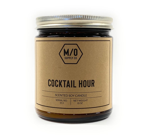 M/O Supply Soy Candle - Cocktail Hour Scent