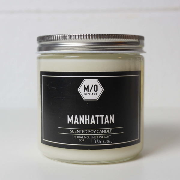 M/O Supply Soy Candle - Manhattan Scent