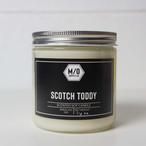 M/O Supply Soy Candle - Scotch Toddy Scent