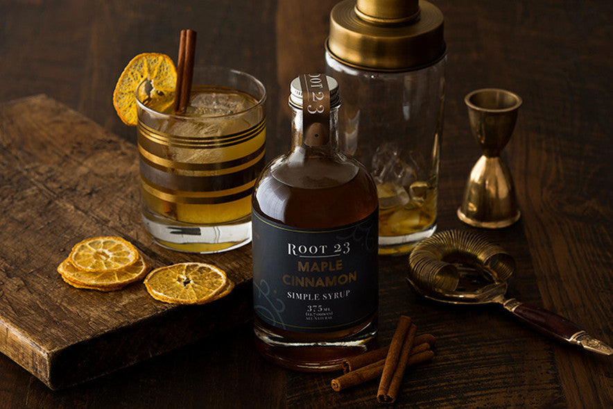 ROOT 23 Maple Cinnamon - Simple Syrups. Simple Cocktails.