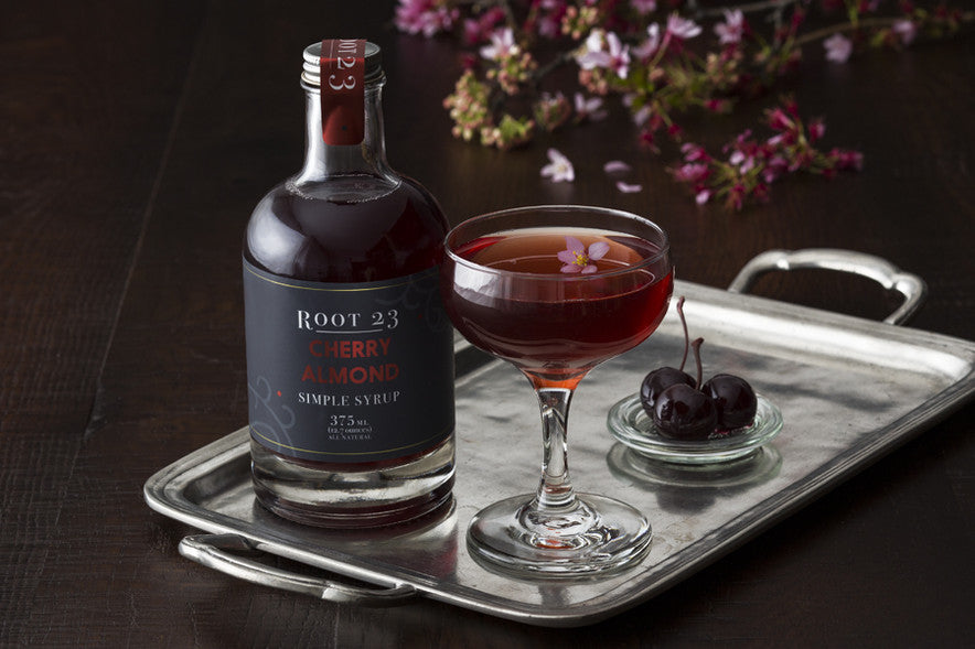 ROOT 23 Cherry Almond - Simple Syrups.  Simple Cocktails.