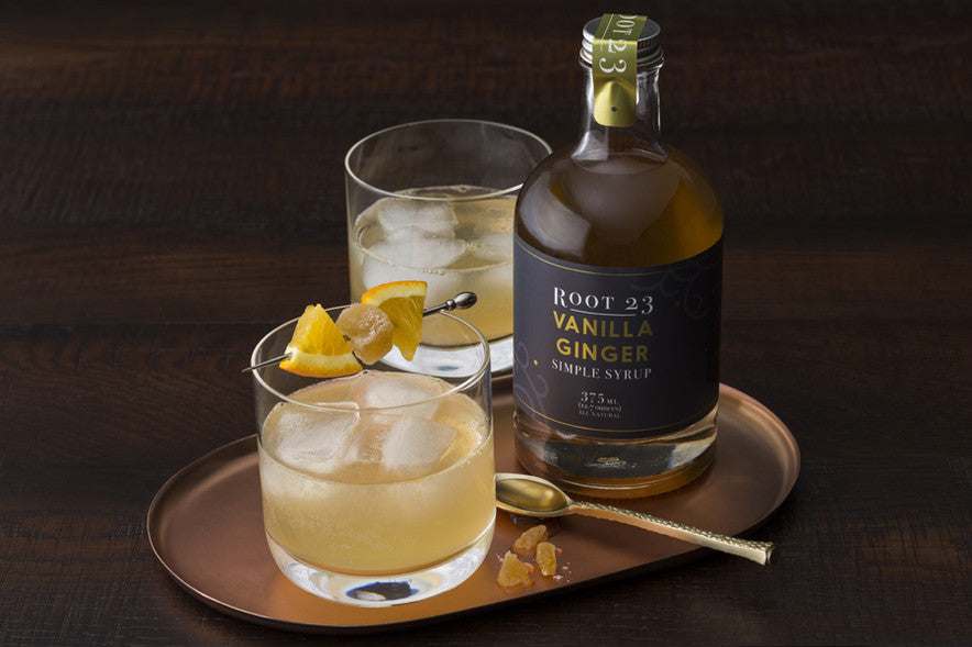 ROOT 23 Vanilla Ginger -  Simple Syrups.  Simple Cocktails.
