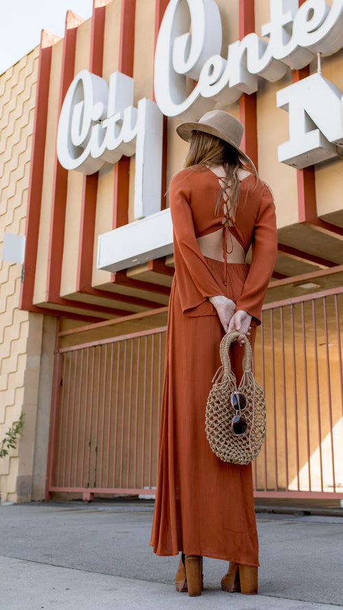 Downtown Maxi Dress