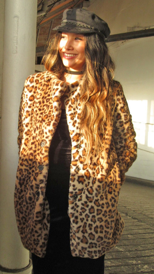 Leopard Faux Jacket