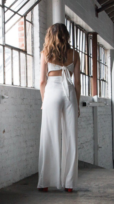 Sheena White jumpsuit