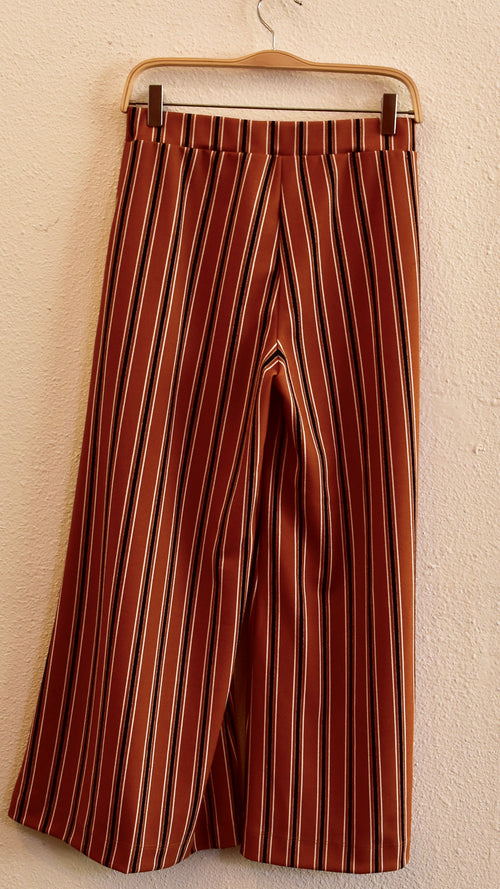 Jeri Striped Wide Leg Pants