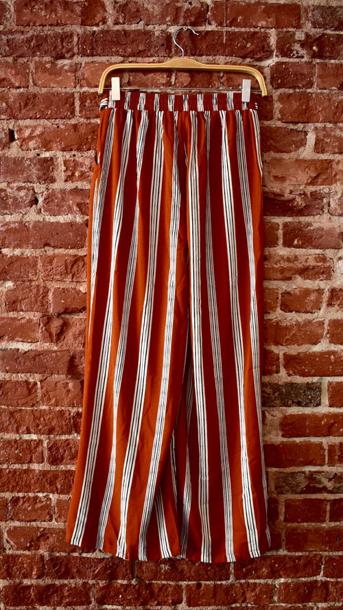 St. Tropez Palazo Striped Pant
